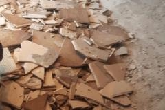 Klaas de Jong Timmerwerken, 026, sloopwerk schoorsteen kanaal en verwijderen vloertegels
