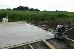 Klaas de Jong Timmerwerken, 005, betonvlinderwerk voor het plaatsen van silo